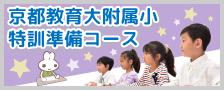 京都教育大附属京都小 特訓準備コース<現年長児>